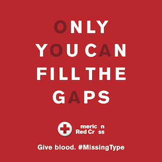 red cross missing types