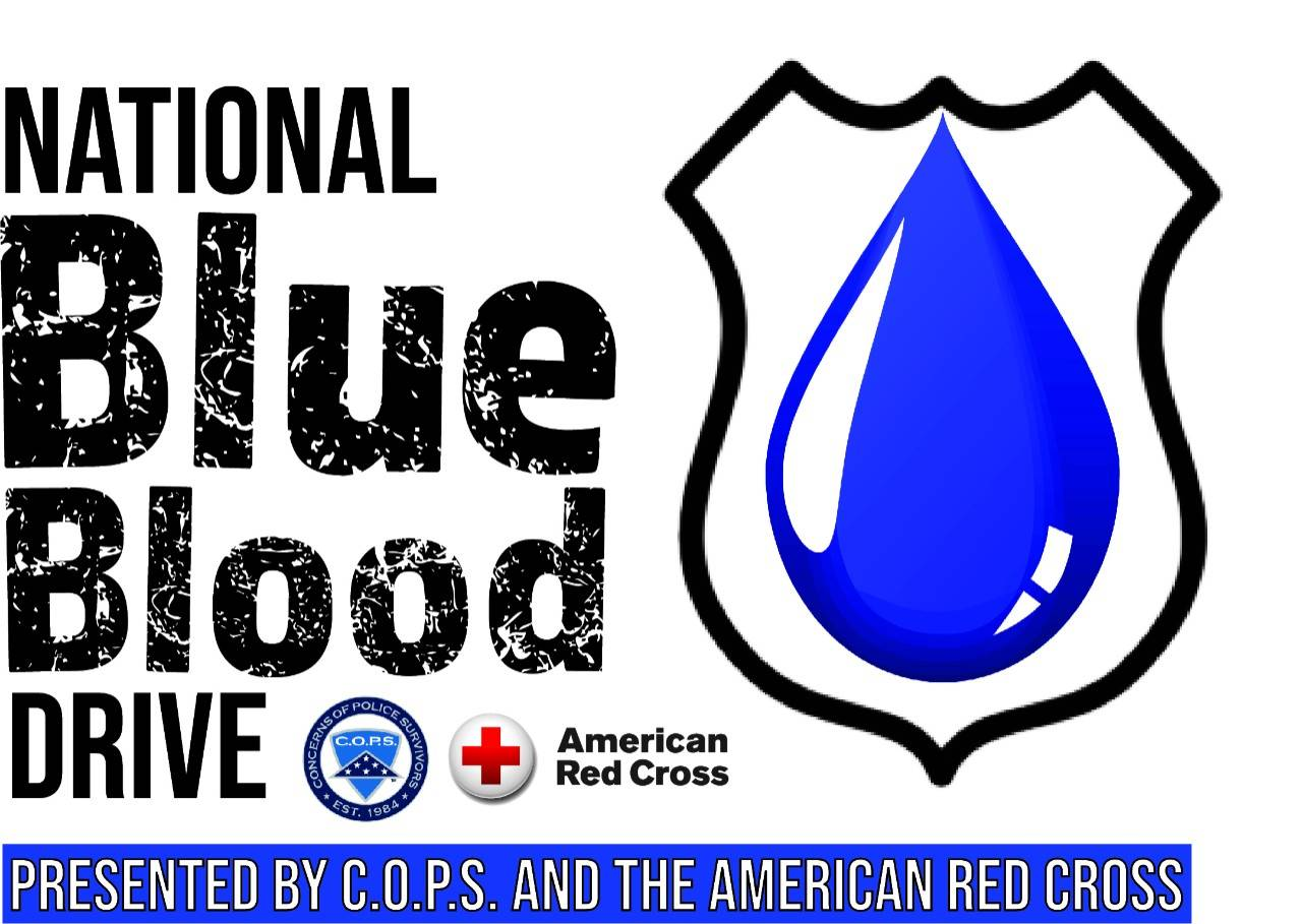 blue blood campaign logo - print