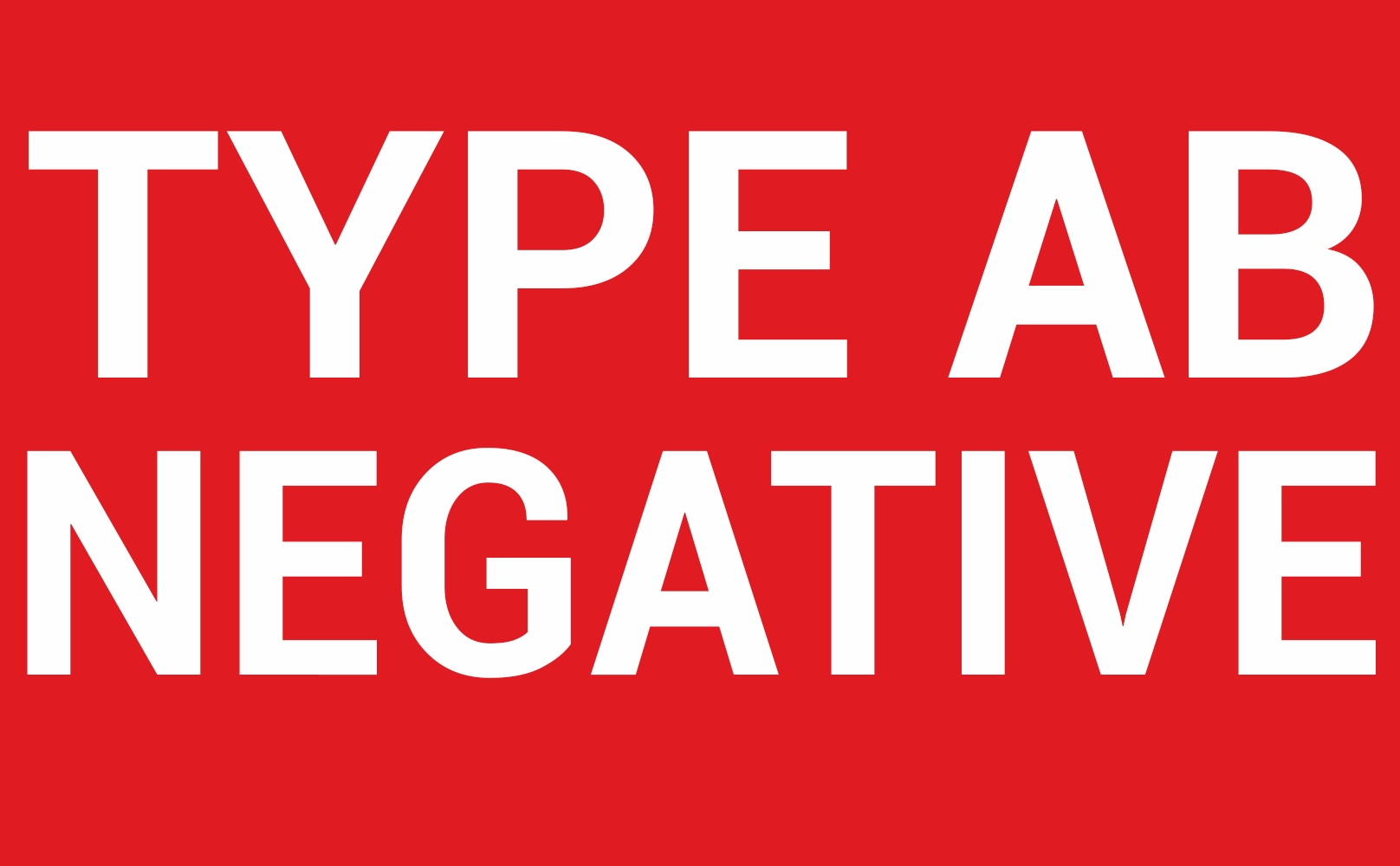 AB Positive, AB Negative Blood | Rare Blood Type