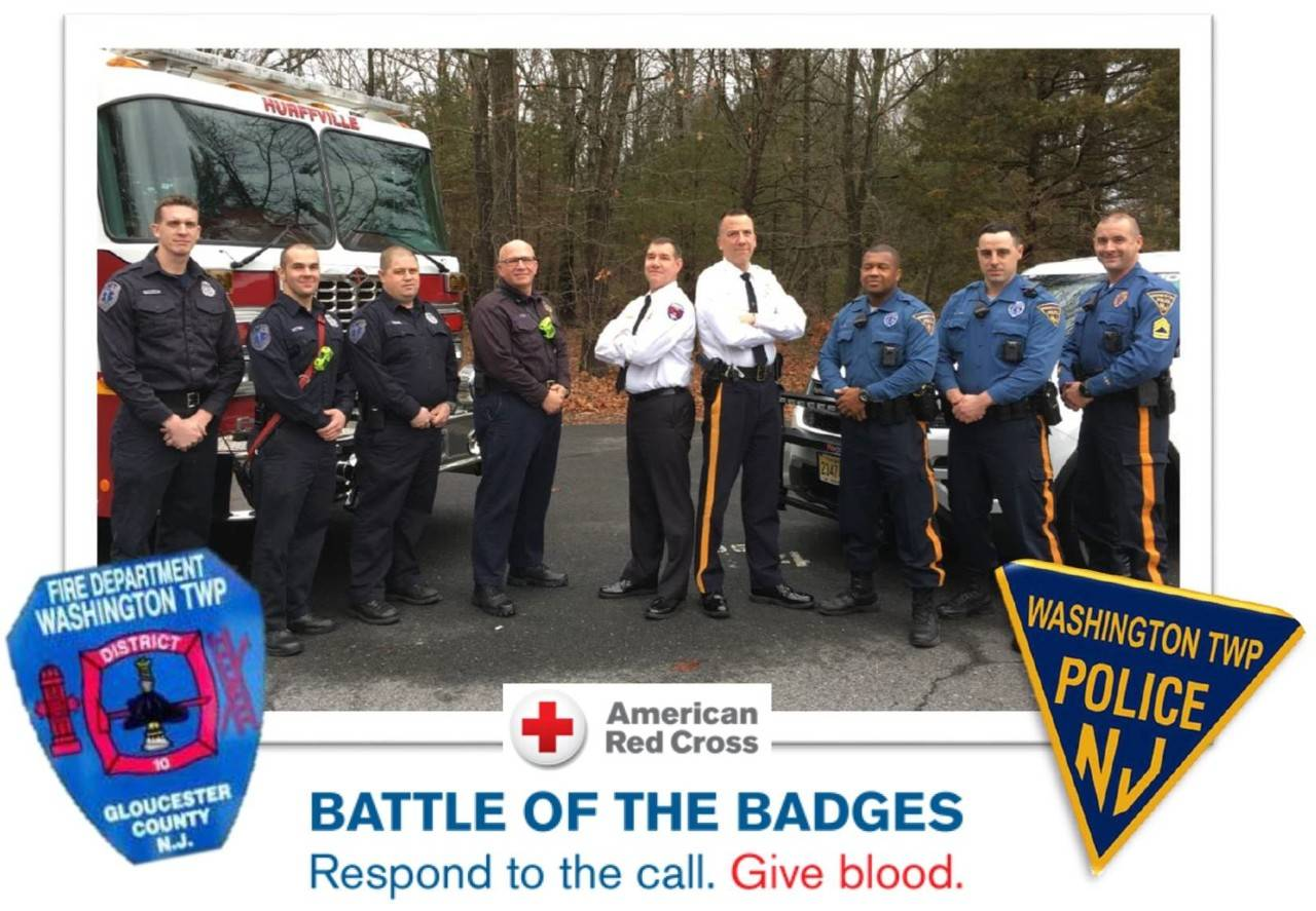 washington township battle badges
