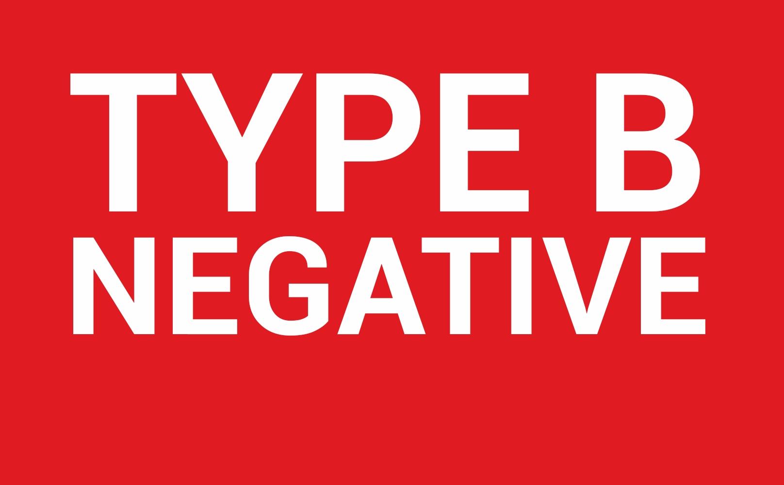 B pos, B Neg Blood Type Explained